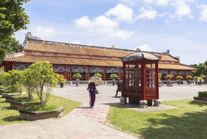 Имперский город в оттенке, Вьетнам стоковое фото