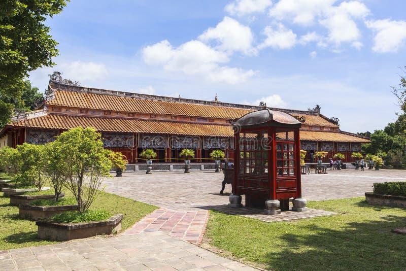 Имперский город в оттенке, Вьетнам стоковое изображение rf