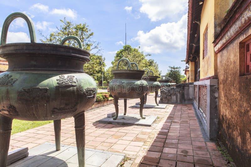 Имперский город в оттенке, Вьетнам стоковое фото rf