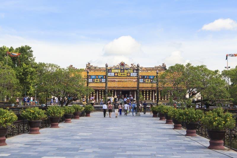 Имперский город в оттенке, Вьетнам стоковые фотографии rf
