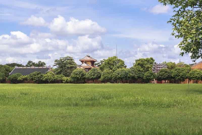 Имперский город в оттенке, Вьетнам стоковая фотография rf