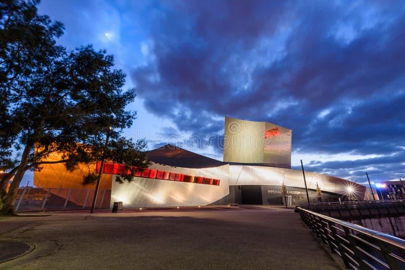 Имперский музей Манчестер войны, Великобритания стоковое изображение rf