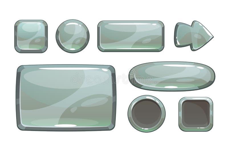 Имущества игры шаржа серебряные бесплатная иллюстрация