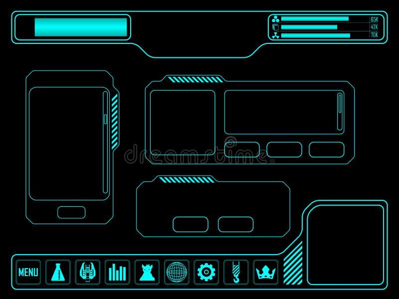 Имущество игры космоса бесплатная иллюстрация
