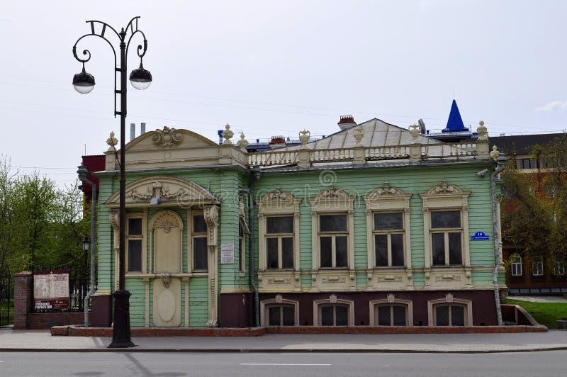 Download Имущество Kolokolnikov, комплекс музея I Ya Slovtsov Architec Стоковое Изображение - изображение насчитывающей высекано, окна: 40589537