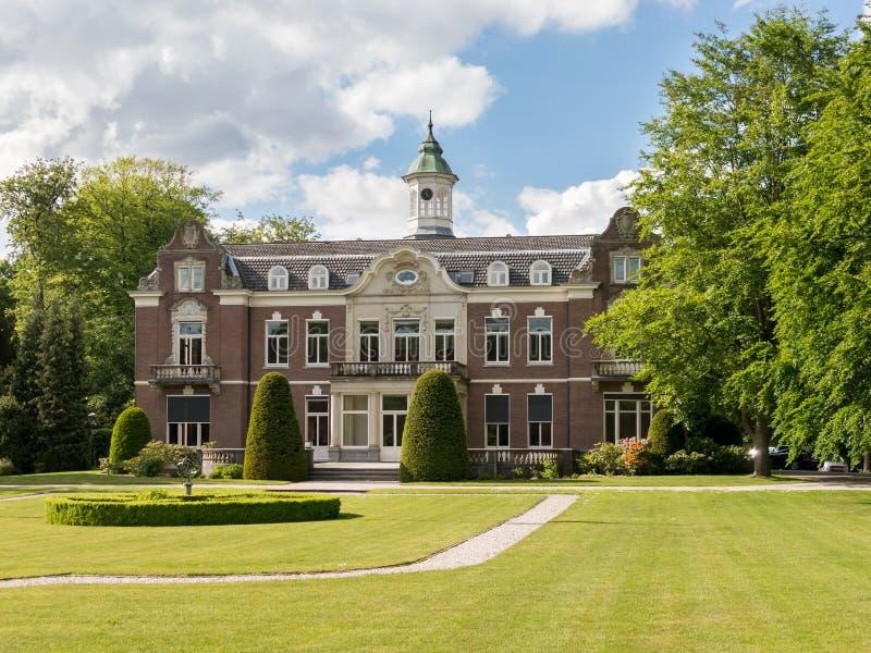 Имущество Rusthoek в Baarn, Нидерланды стоковое изображение rf