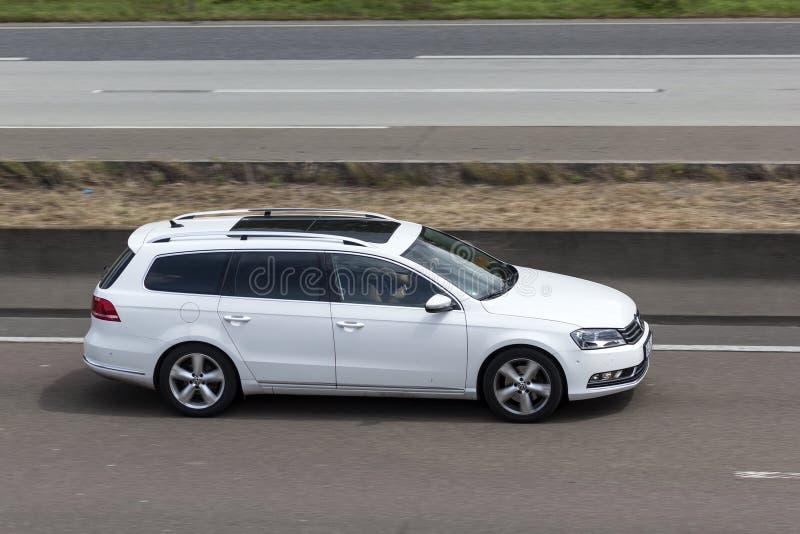 Имущество Volkswagen Passat стоковые изображения