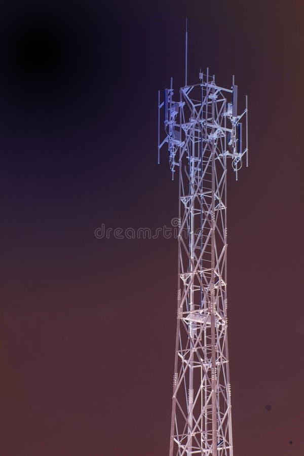 инвертная антенна цвета стоковое фото rf