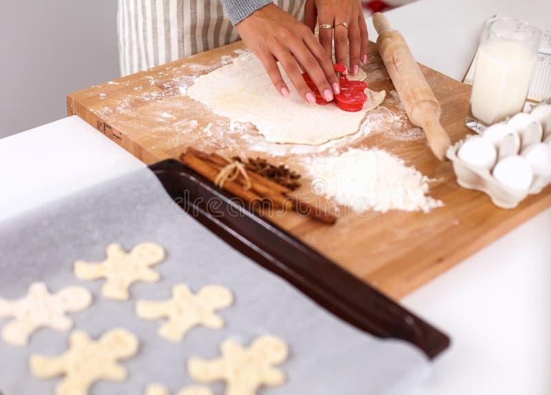 Ингридиенты выпечки для печенья shortcrust, плунжера стоковое фото