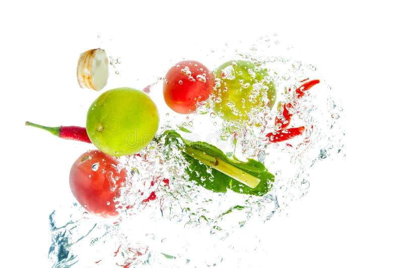 Ингридиенты супа Тома Yum стоковое изображение rf