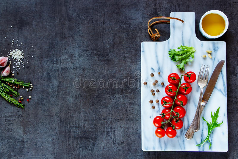 Ингридиенты для вегетарианский варить стоковая фотография