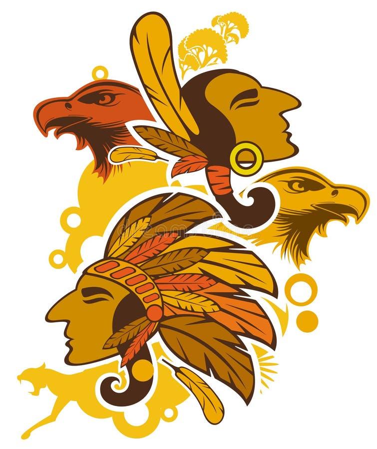 индейцы бесплатная иллюстрация