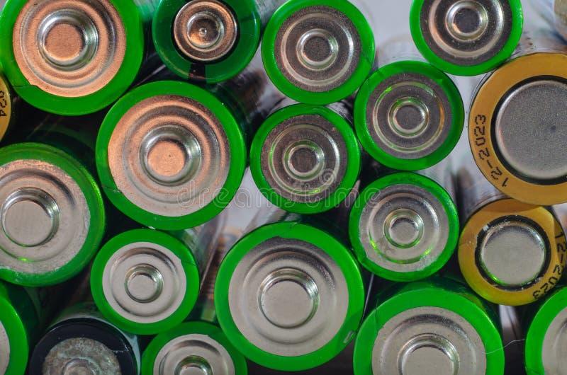 Индивидуальность батарей стоковая фотография rf