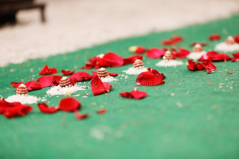 Индийская фотография свадьбы стоковое фото rf