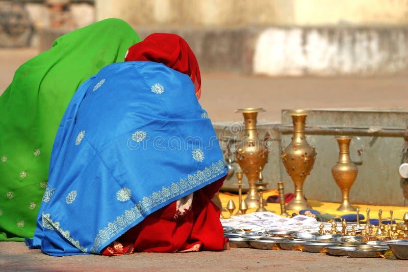 индийские женщины стоковое фото