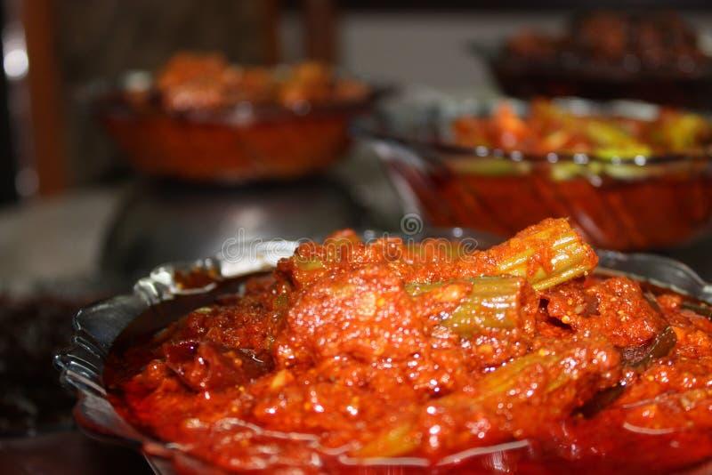 Индийские пряные соленья стоковая фотография