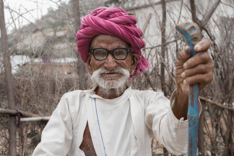 Индийские сельские жители стоковые изображения