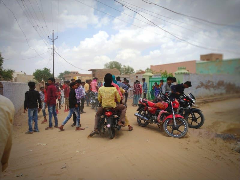 Индийские улицы стоковые изображения