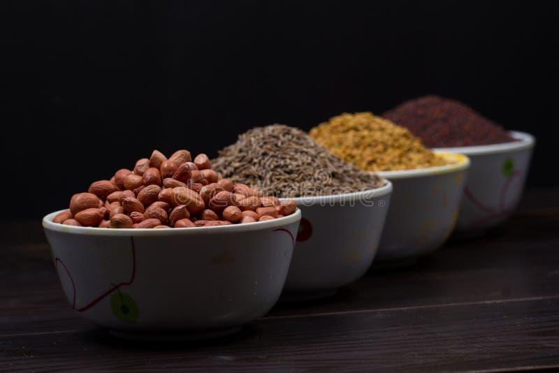 Индийский порошок еды стоковые изображения