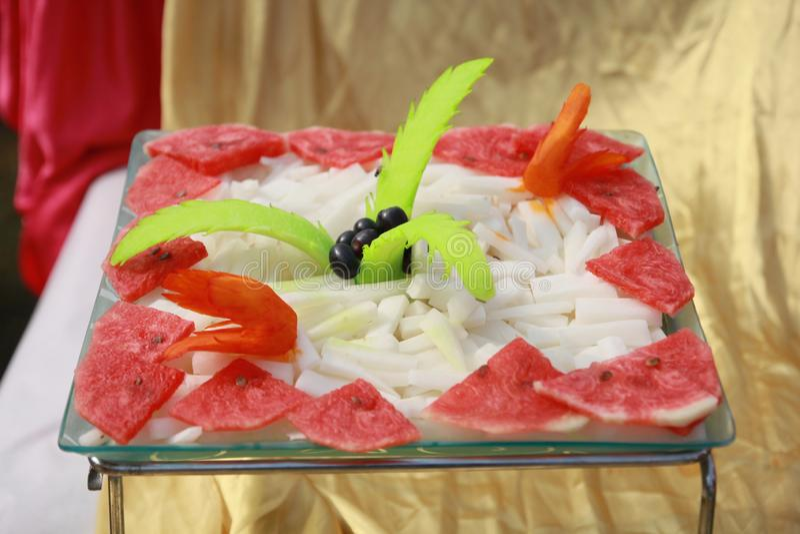 Индийский салат замужества стоковые изображения