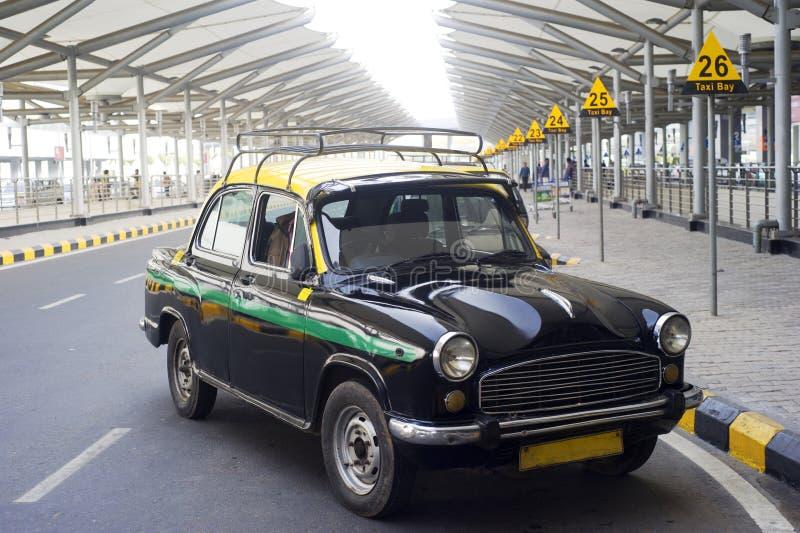 индийский таксомотор стоковое фото rf