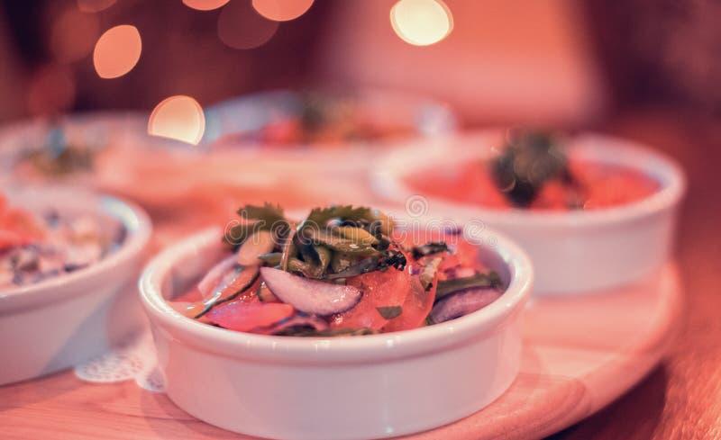 индийский тип салата стоковая фотография