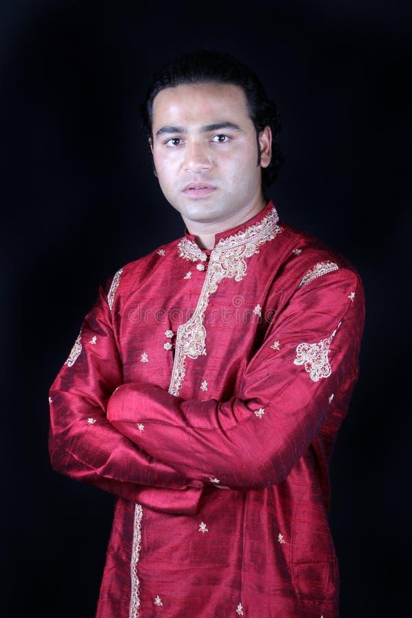 индийский человек традиционный стоковая фотография rf
