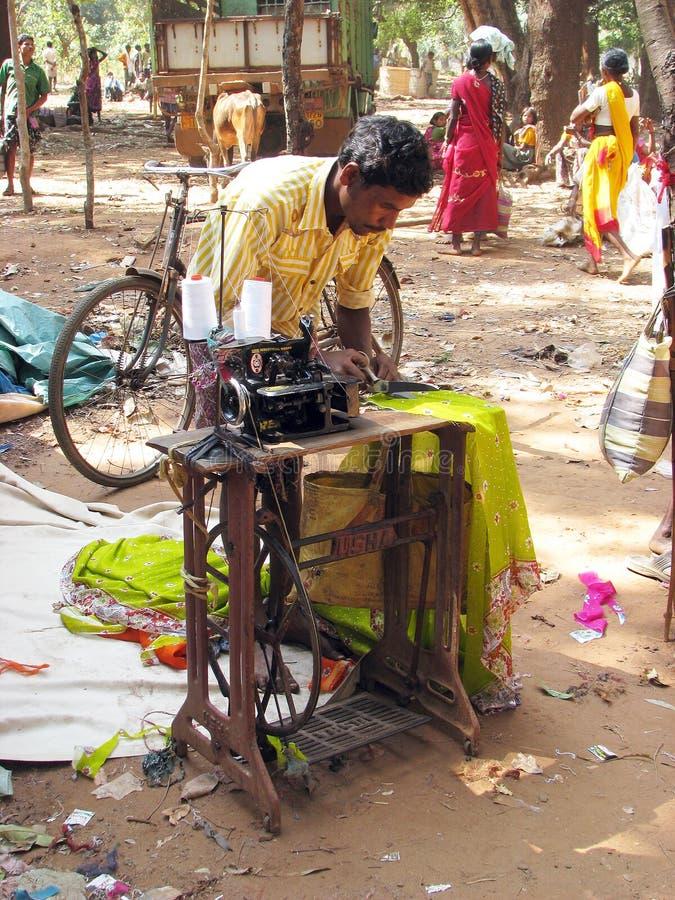 индийский taylor соплеменный стоковое изображение
