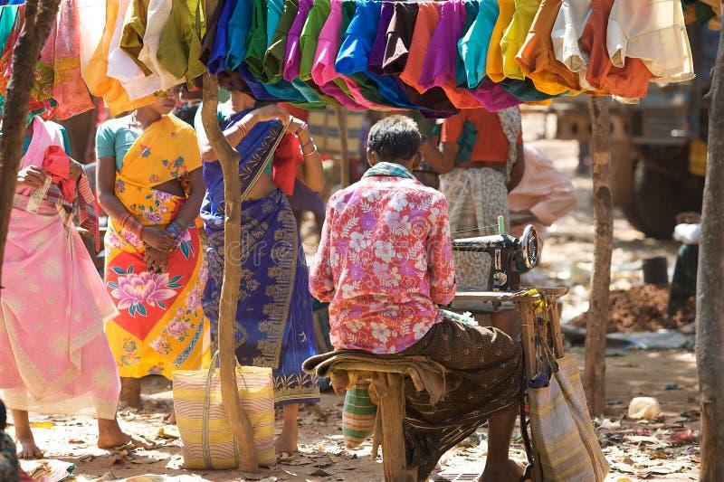индийский taylor соплеменный стоковые изображения