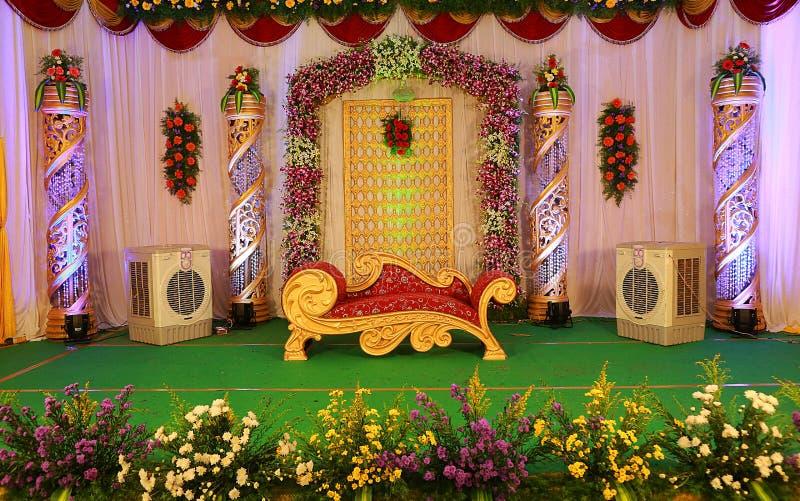 индийское венчание этапа стоковые изображения rf