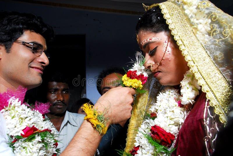 индийское замужество стоковые изображения