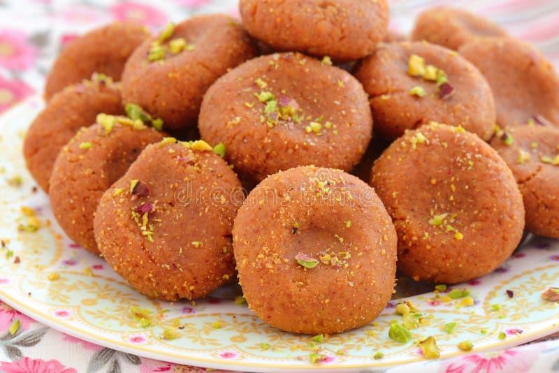 Индийское сладостное peda Матхуры стоковые изображения rf