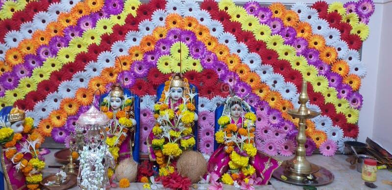 Индийское фото Rama бога стоковые изображения rf