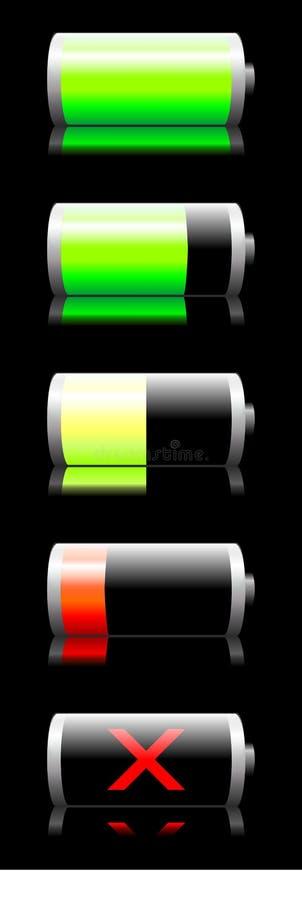 Индикатор состава рабочей смеси батареи бесплатная иллюстрация