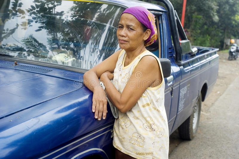 индонезийская женщина портрета стоковое фото