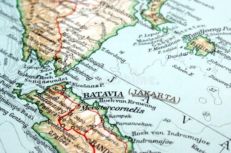 Индонесия jakarta стоковое изображение