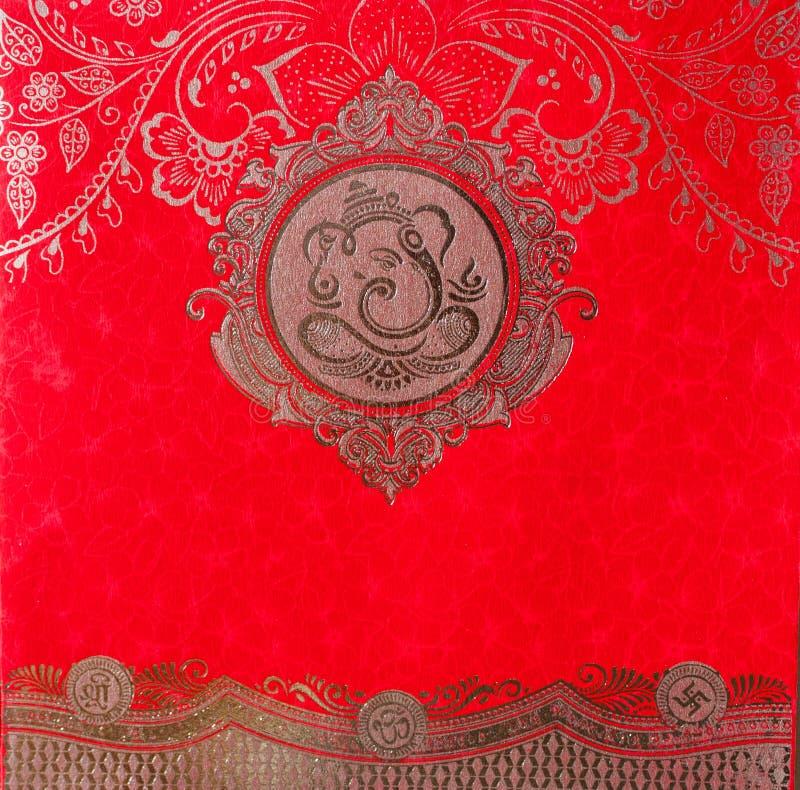 Индусский бог-Ganesh иллюстрация вектора