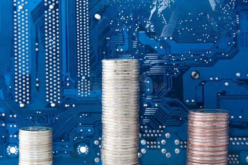индустрия делает технологию дег стоковое изображение rf