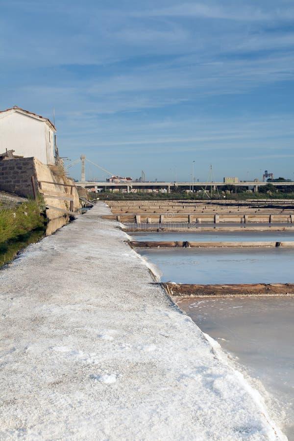 Индустрия соли стоковое изображение rf