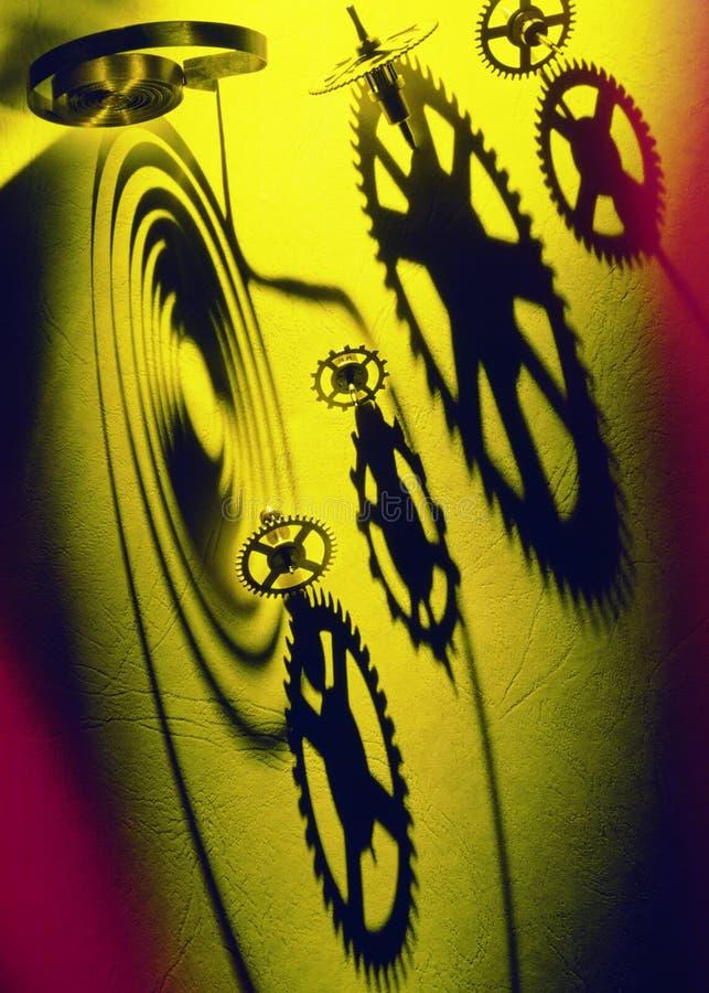 Индустрия - Cogs & весны - Clockwork иллюстрация вектора