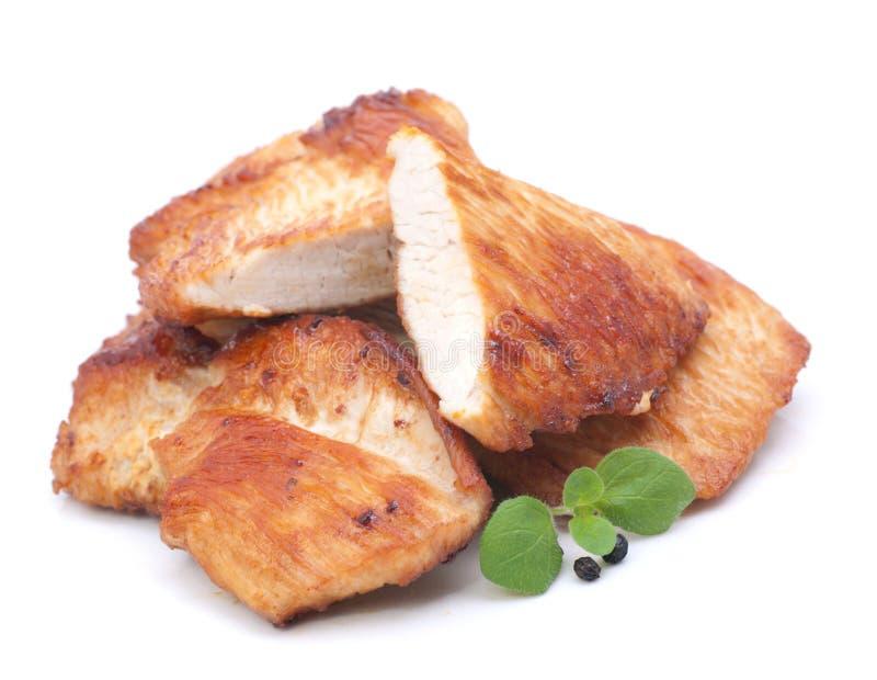 индюк курицы escalope стоковое изображение rf