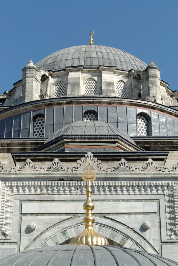 индюк мечети istanbul beyazit стоковые фото