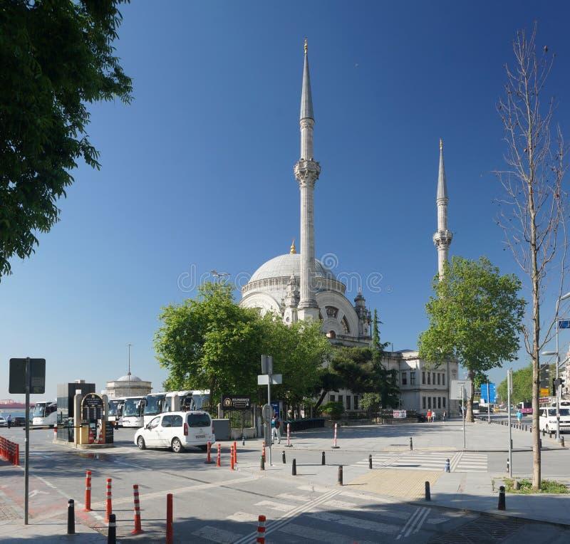 индюк мечети istanbul dolmabahce стоковые фотографии rf