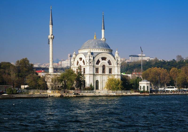 индюк мечети istanbul dolmabahce стоковое фото