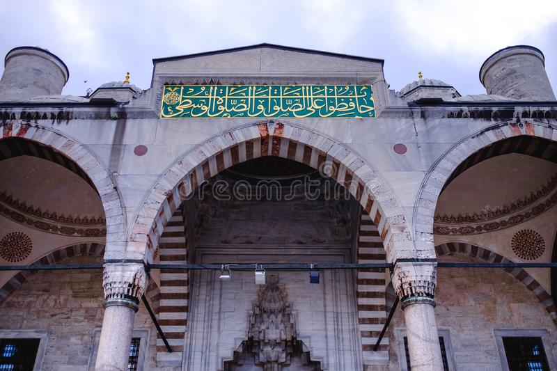 индюк султана мечети ahmed istanbul стоковая фотография