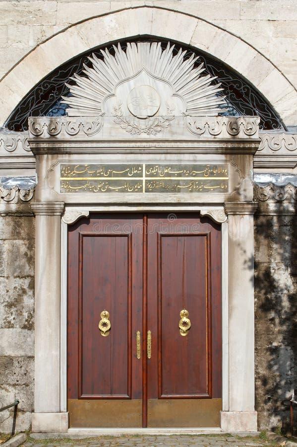 индюк тахты двери старый стоковые изображения