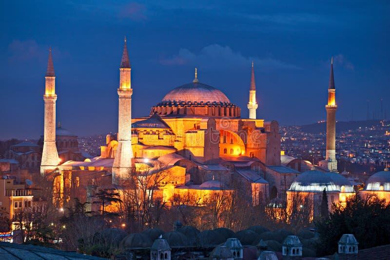 индюк sophia мечети istanbul hagia стоковые фото