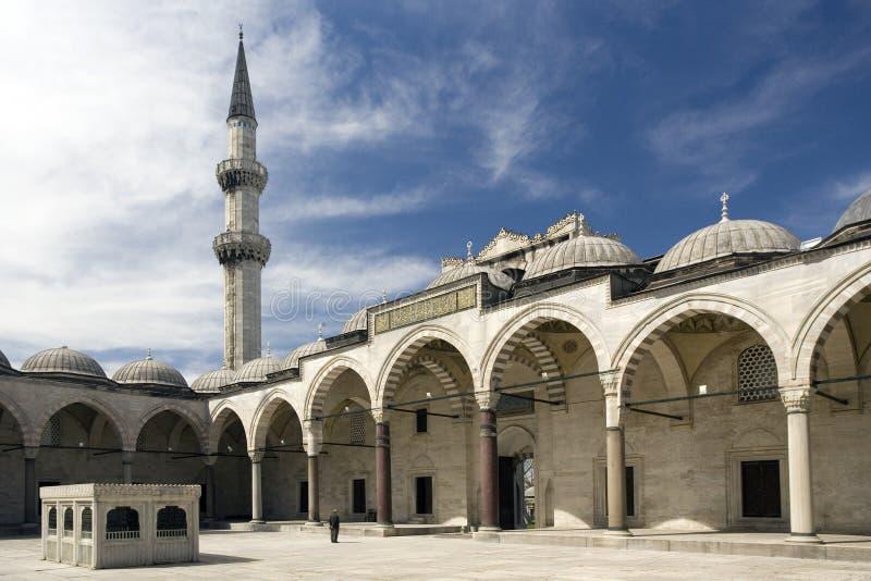 индюк suleymaniye мечети istanbul стоковые изображения