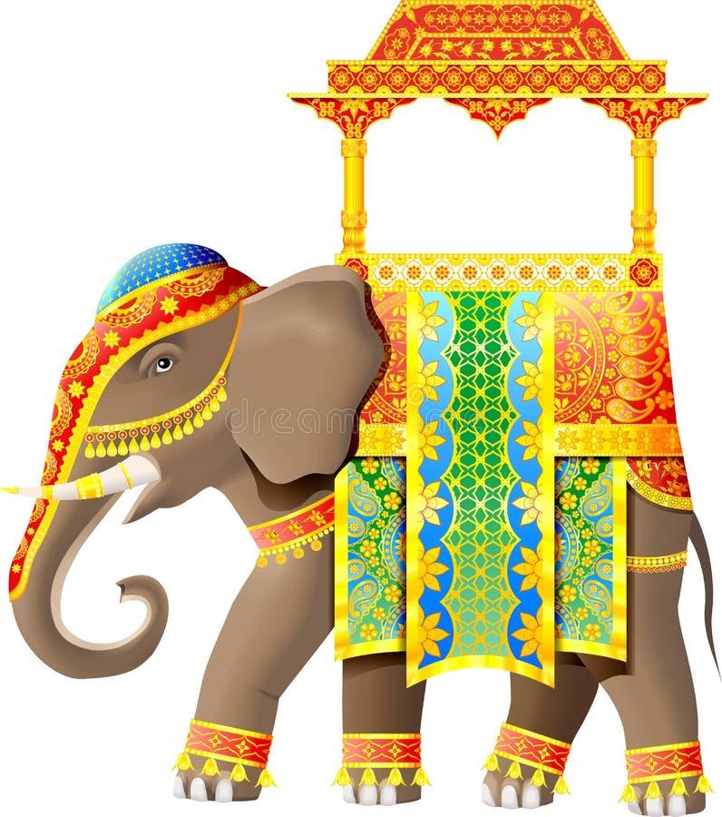инец слона иллюстрация вектора