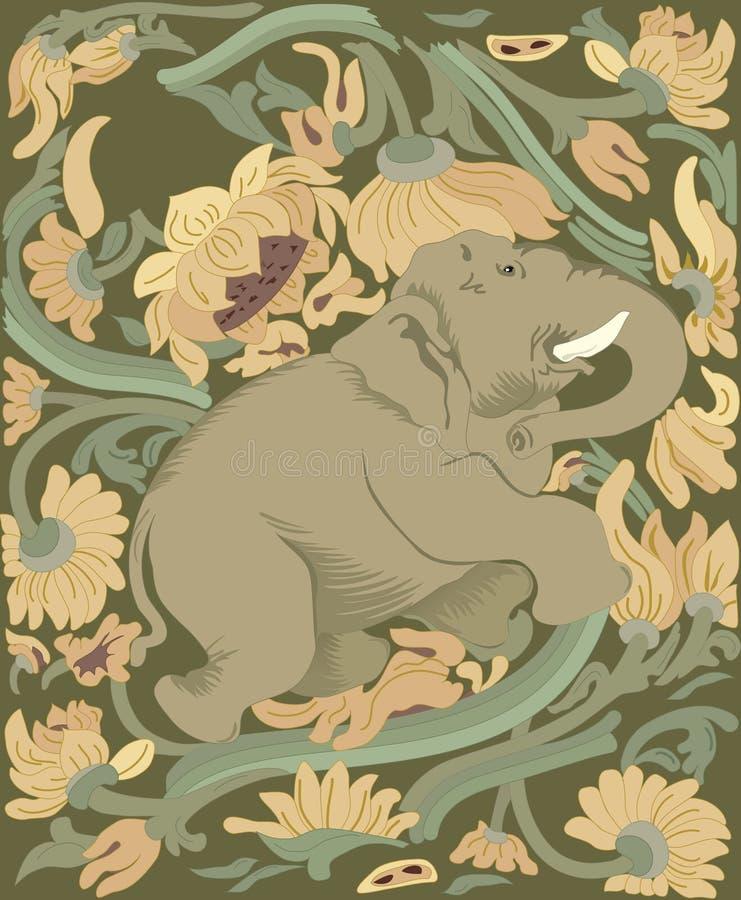 инец слона бесплатная иллюстрация